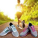 Силиконовые шнурки для обуви 12 штук в комплекте синие., фото 8