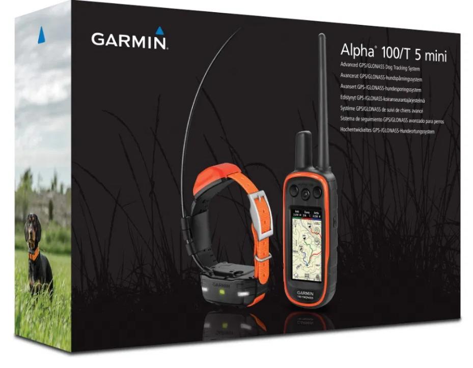 Система слежения за собаками Garmin Alpha 100 Т5 mini (010-01486-A3)