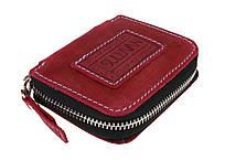 Ключниця шкіряна сумочка для ключів SULLIVAN k22(7) фуксія