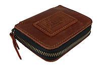 Ключниця шкіряна сумочка для ключів SULLIVAN к23(7) світло-кориневая