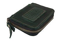 Ключница кожаная сумочка для ключей SULLIVAN k24(7) зеленая
