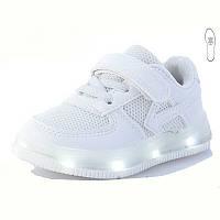 Светящиеся кроссовки с мигалками. Размеры 23.