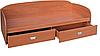 Кровать Батумская NEW ДСП / МАКСИ-Мебель (под матрас 800 х 1900)