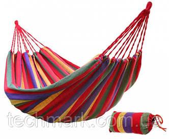 Мексиканский подвесной хлопковый гамак 200*80 см
