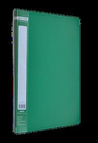 Папка A4 з боковим притиском JOBMAX, зелений