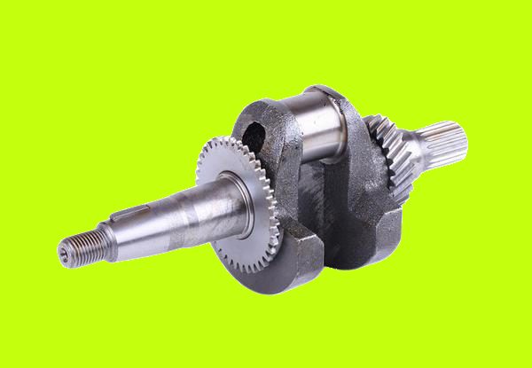 Колінвал під шліц для двигуна з знижувальним редуктором - 168F КОД 4097