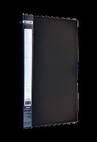 Папка A4 з боковим притиском JOBMAX, чорний