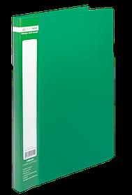 Папка A4 зі швидкошивачем, JOBMAX, зелений