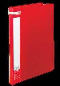 Папка A4 зі швидкошивачем, JOBMAX, червоний