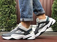 Мужские демисезонные кроссовки Nike M2K Tekno,серые с бежевым