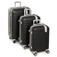 Дорожный Чемодан 31 ABS-пластик 8341 black.Купить дорожный чемодан