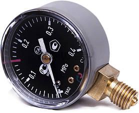 Манометр ацетиленовий 0,4 МПа вихідного тиску (Латвія)