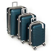 Дорожный Чемодан 31 ABS-пластик 8341green.Купить дорожный чемодан