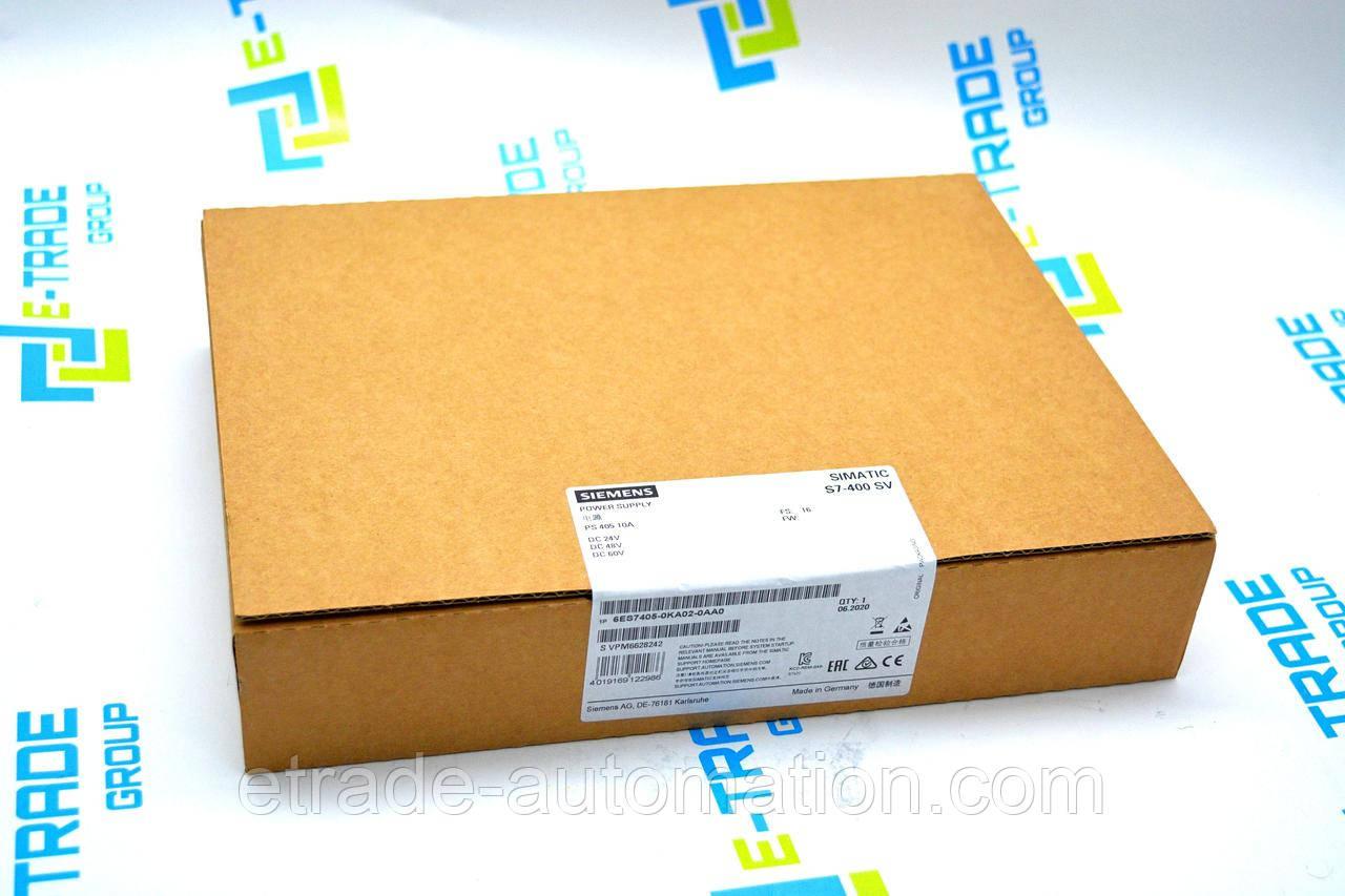 Блок питания Siemens 6ES7405-0KA02-0AA0