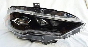 Передние фары Ford Mustang 6 (17-20) тюнинг Full Led оптика