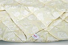 Одеяло полуторное пуховое Зимнее 155x215 гусиный пух Екстра 042.21, фото 2