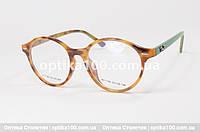 Женская цветная оправа для очков. Круглая. С логотипом Ray Ban, фото 1