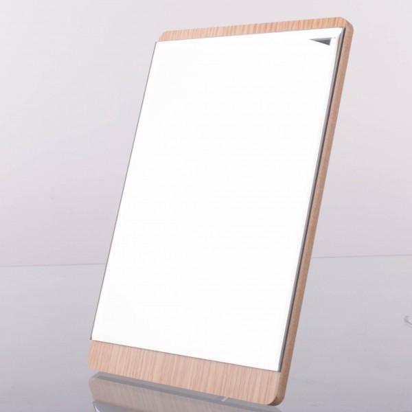 Дзеркало для макіяжу Cosmetic Mirror дерев'яне 30*17см