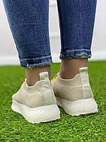 Кросівки жіночі 8 пар в ящику бежевого кольору 36-41, фото 7