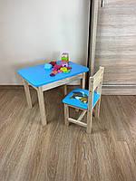 Детский стол и стул. Для учебы,рисования,игры. Стол с ящиком и стульчик., фото 4