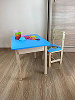 Детский стол и стул. Для учебы,рисования,игры. Стол с ящиком и стульчик., фото 5