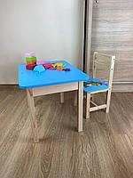 Детский стол и стул. Для учебы,рисования,игры. Стол с ящиком и стульчик., фото 6