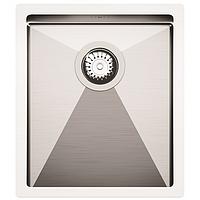 Кухонная мойка из нержавеющей стали 390х450 AquaSanita EN100M