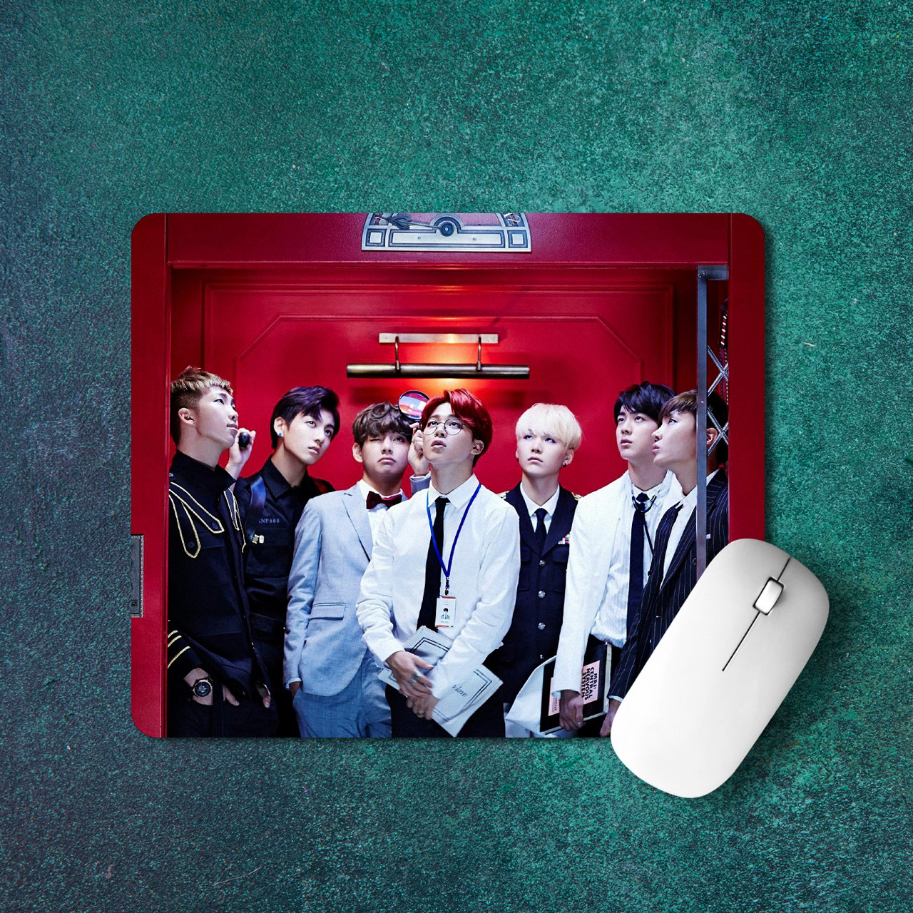 Коврик для мыши BTS 10 вариантов