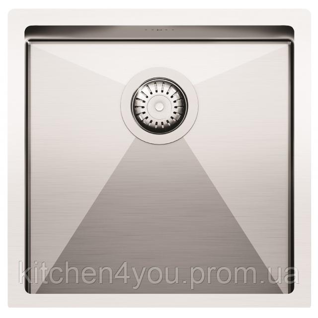 Кухонна мийка з нержавіючої сталі 450х450 AquaSanita ENN100X