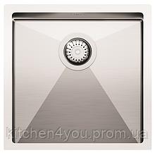 Кухонная мойка из нержавеющей стали 450х450 AquaSanita ENN100X