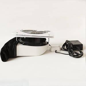 Врізна вбудована витяжка для корекції нігтів Air Max MV151 PRO витяжка врізна для манікюрного столу