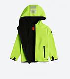 Детская куртка softshell Cool Club 104 салатовая, фото 2