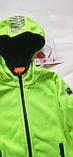 Детская куртка softshell Cool Club 104 салатовая, фото 6