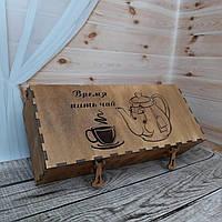 Чайна коробка. Органайзер для чаю., фото 1