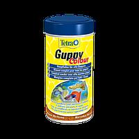 Корм для аквариумных рыб Tetra Guppy Colour 100 мл хлопья для окраса гуппи (197275)