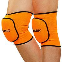 Наколенники для волейбола (2шт) MIKASA MA-8137, L оранжевый