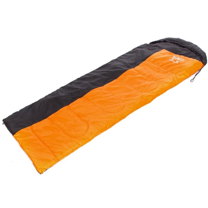 Спальный мешок (220*75 см) оранжево-черный SY-081