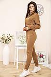 Спорт костюм жіночий 119R286 колір Коричневий, фото 3