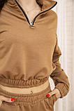 Спорт костюм жіночий 119R286 колір Коричневий, фото 5