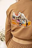 Спорт костюм жіночий 119R286 колір Коричневий, фото 6