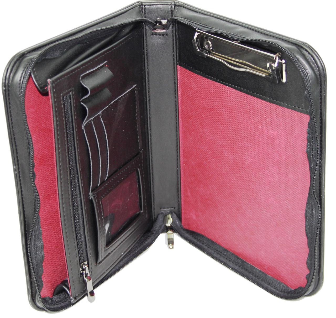 Мужская деловая папка формата А5 Portfolio Portbw08 черная