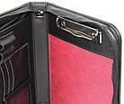 Мужская деловая папка формата А5 Portfolio Portbw08 черная, фото 5
