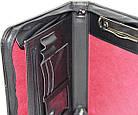 Мужская деловая папка формата А5 Portfolio Portbw08 черная, фото 6