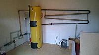 Монтаж систем отопления, твердотопливных котлов, фото 1