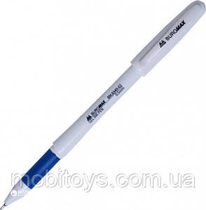 "Ручка гелева ""Buromax"", 0.5мм.  8340-02, синя, ш.к. 4824004014766"
