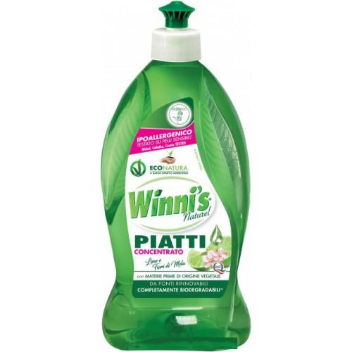 Концентрированное средство с лимоном для посуды WINNI'S PIATTI CONCENTRATO LIMONE (500мл.)