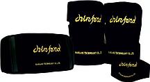 Комплект турмалиновых поясів Хао Ган 1 для попереку, 1 для шиї, 2 для колінних суглобів
