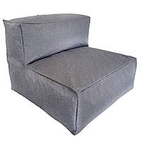 Бескаркасный модульный диван Блэк Прямой