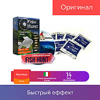 7 саше FISH HUNT | активатор клёва, стимулятор улова для всех видов рыб, приманка (Фиш Хант)