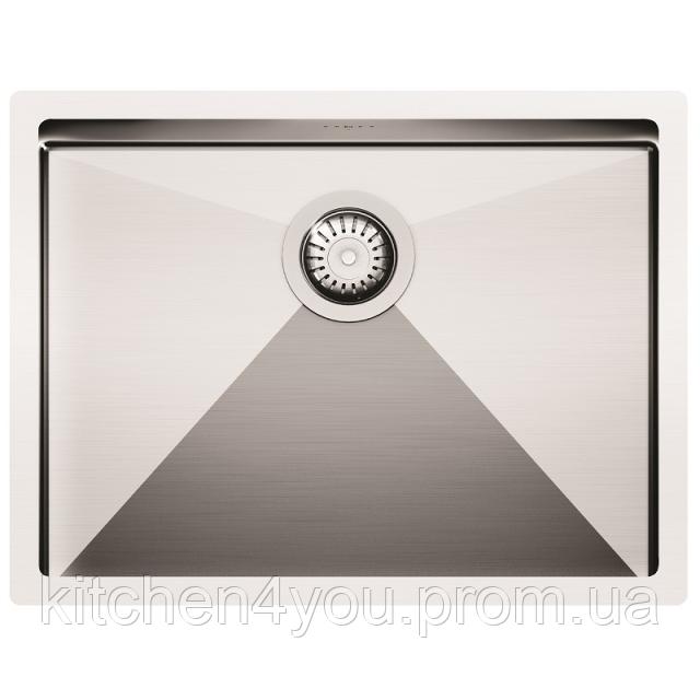 Кухонна мийка з нержавіючої сталі 590х450 AquaSanita ENN100L